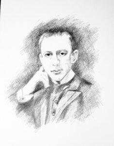 Rachmaninoff, Peter Aarons' Musical Idol (Image by Jan Knorr)