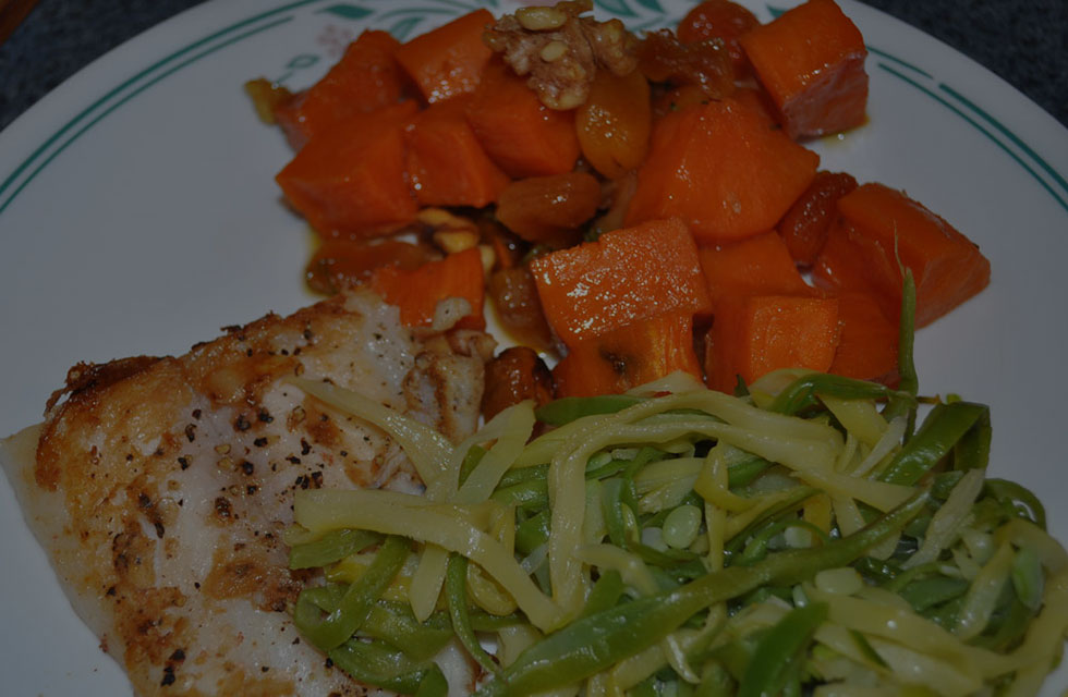 Glory Talks About Food & Family: Mama's Sweet Potato and Apricot Compote